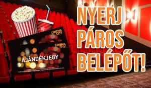 Páros belépő a tét a kaposvári Cinema Citybe! 8bc0a31815