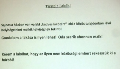 Vicces lakóházi üzenetek Kaposvárról 2b88577bb2