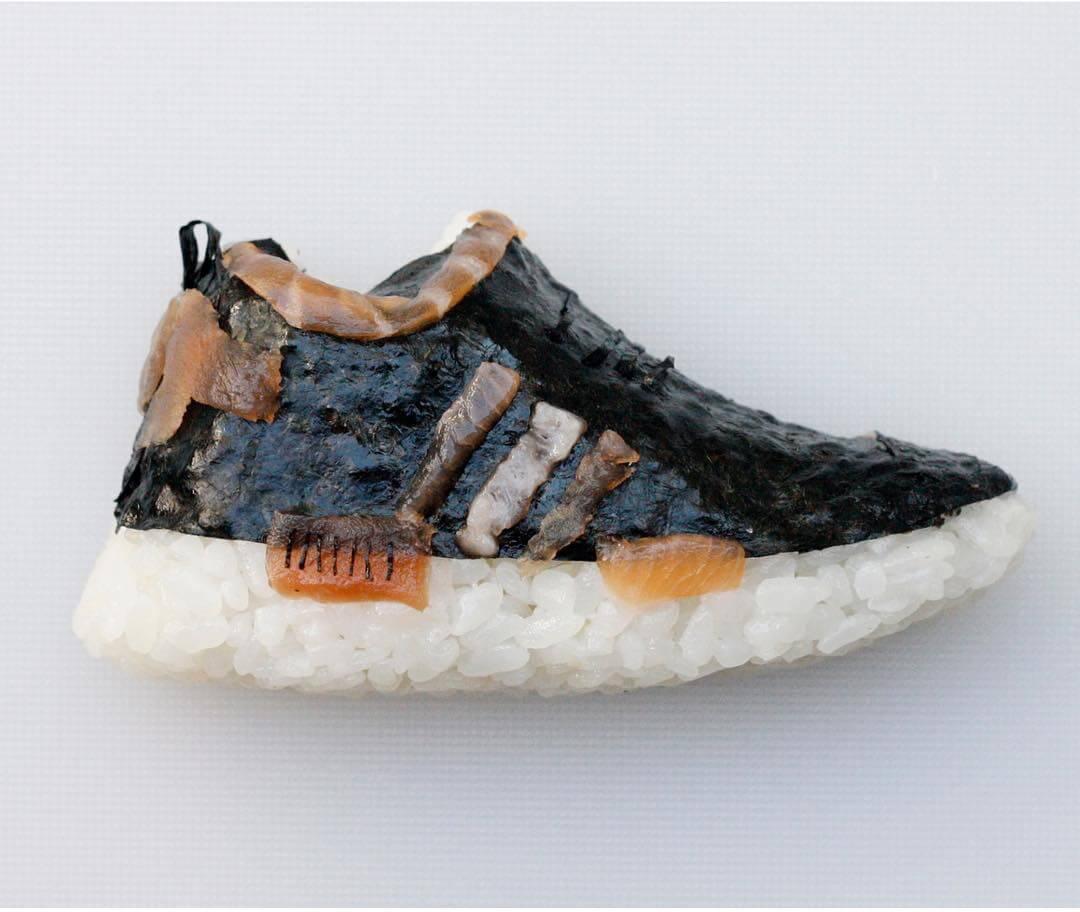 Az Adidas sztárcipője az NMD sem kerülhette el szusi sorsát. Hát nem  zabálnivaló  ec9677aaa9