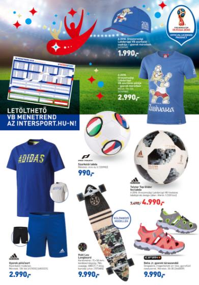Az Intersportban a VB-re gyártott pólót és baseball sapit is be tudjátok  szerezni kedvezményes áron 089595da43